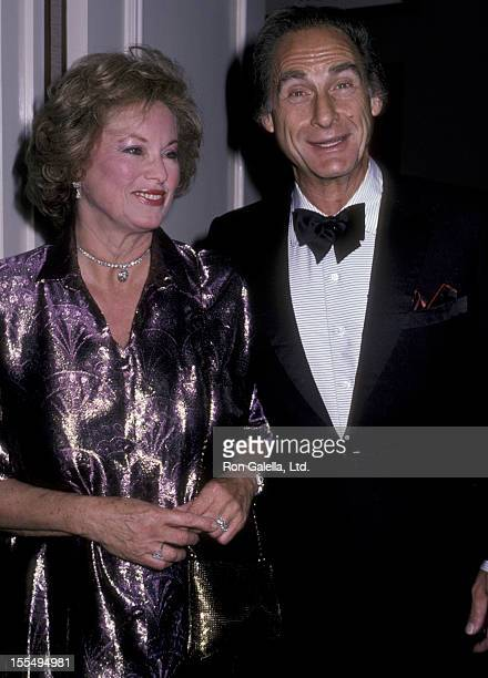 Actress Sid Caesar and wife Florence Caesar attend St Jude Children's Hopsital Benefit Gala on August 30 1986 at the Century Plaza Hotel in Century...