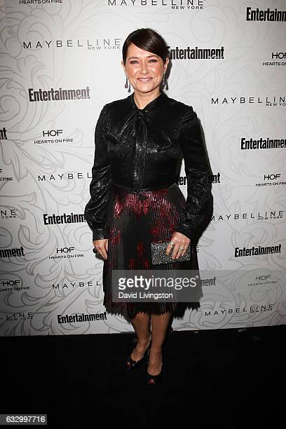 Actress Sidse Babett Knudsen arrives at the Entertainment Weekly celebration honoring nominees for The Screen Actors Guild Awards at the Chateau...