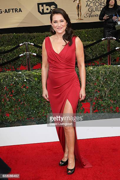 Actress Sidse Babett Knudsen attends the 23rd Annual Screen Actors Guild Awards at The Shrine Expo Hall on January 29 2017 in Los Angeles California