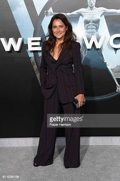 Actress Sidse Babett Knudsen attends the premiere of HBO's Westworld at TCL Chinese Theatre on September 28 2016 in Hollywood California