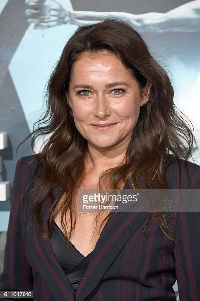 Actress Sidse Babett Knudsen attends the premiere of HBO's 'Westworld' at TCL Chinese Theatre on September 28 2016 in Hollywood California