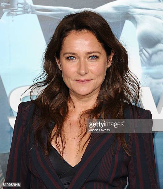 Actress Sidse Babett Knudsen attends the premiere of 'Westworld' at TCL Chinese Theatre on September 28 2016 in Hollywood California