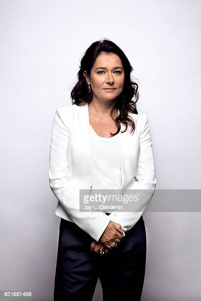 Actress Sidse Babett Knudsen from the film 150 Milligrams poses for a portraits at the Toronto International Film Festival for Los Angeles Times on...