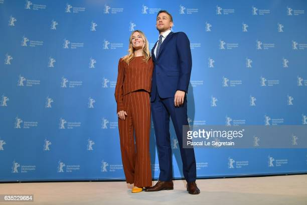 Actress Sienna Miller and actor Charlie Hunnam the 'The Lost City of Z' photo call during the 67th Berlinale International Film Festival Berlin at...
