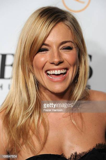 Actress Sienna Miller arrives at the Esquire Celebrates The Grand Opening of the Esquire House LA With International Medical Corps Benefit Hosted By...