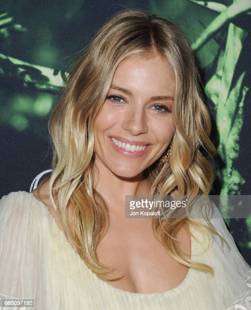 Actress Sienna Miller arrives at the Premiere Of Amazon Studios' 'The Lost City Of Z' at ArcLight Hollywood on April 5 2017 in Hollywood California
