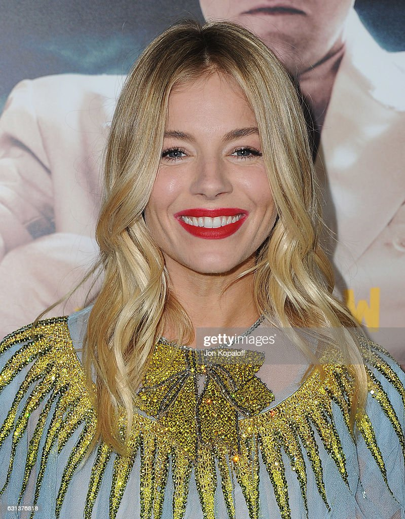 Actress Sienna Miller arrives at the Premiere of 'Live By Night' at TCL Chinese Theatre on January 9, 2017 in Hollywood, California.