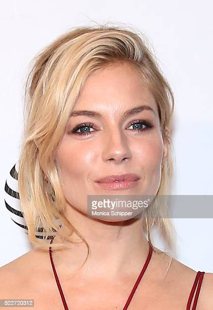 Actress Sienna Miller attends 'HighRise' Premiere 2016 Tribeca Film Festival at SVA Theatre 2 on April 20 2016 in New York City