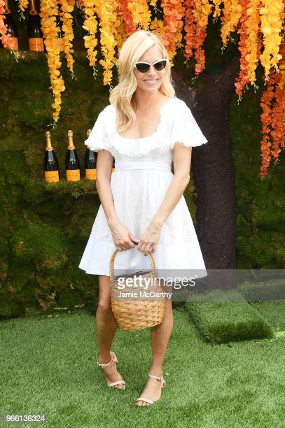 Actress Sienna Miller attends the 11th annual Veuve Clicquot Polo Classic at Liberty State Park on June 2 2018 in Jersey City New Jersey