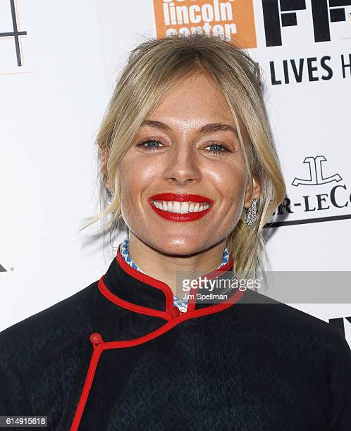 """Actress Sienna Miller attends the 54th New York Film Festival closing night screening of """"The Lost City Of Z"""" at Alice Tully Hall, Lincoln Center on..."""