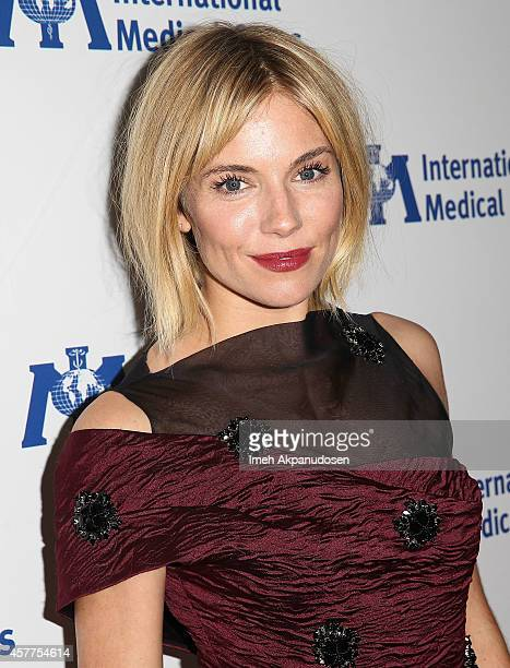 Actress Sienna Miller attends the International Medical Corps' Annual Awards Dinner Ceremony at the Beverly Wilshire Four Seasons Hotel on October 23...