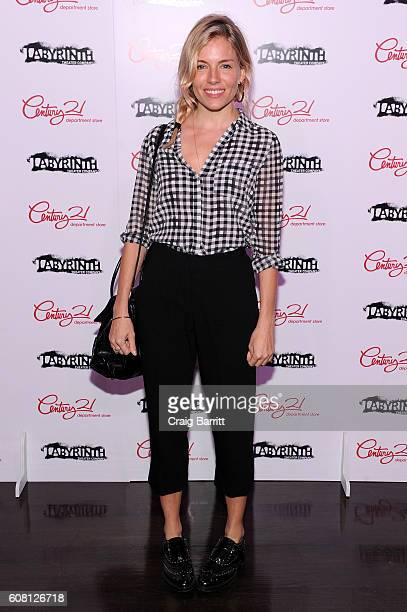 Actress Sienna Miller attends the Labyrinth Theater Company's Celebrity Charades Gala 2016 at Capitale on September 19 2016 in New York City