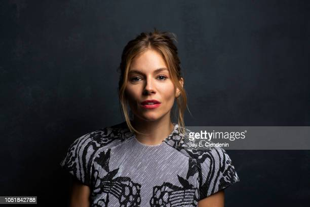 Actress Sienna Miller from 'American Woman' is photographed for Los Angeles Times on September 10 2018 in Toronto Ontario PUBLISHED IMAGE CREDIT MUST...