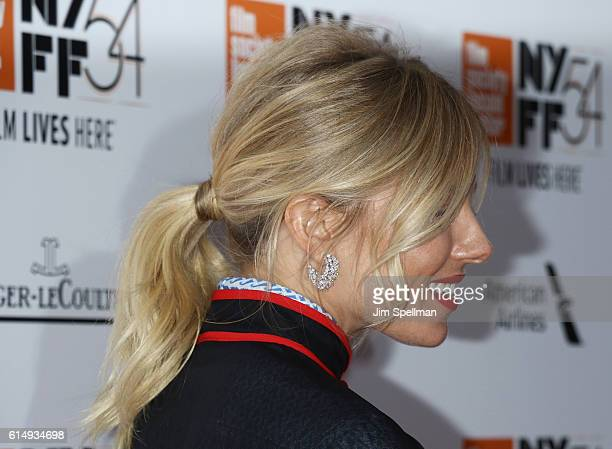 """Actress Sienna Miller, hair detail, attends the 54th New York Film Festival closing night screening of """"The Lost City Of Z"""" at Alice Tully Hall,..."""