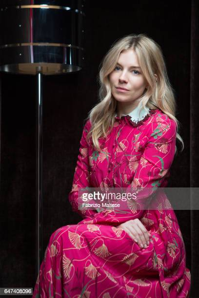 Actress Sienna Miller is photographed for The Hollywood Reporter on February 13 2017 in Berlin Germany