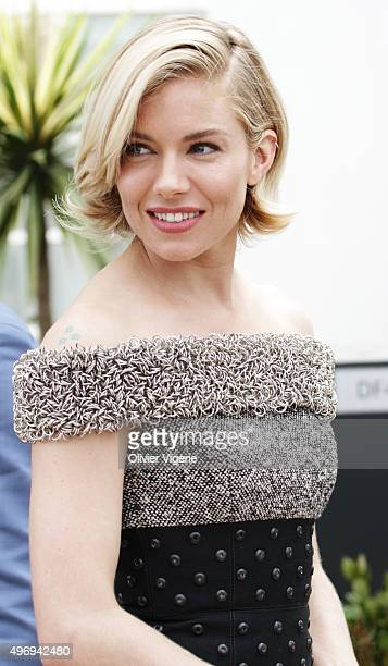 Actress Sienna Miller is photographed on May 15 2015 in Cannes France