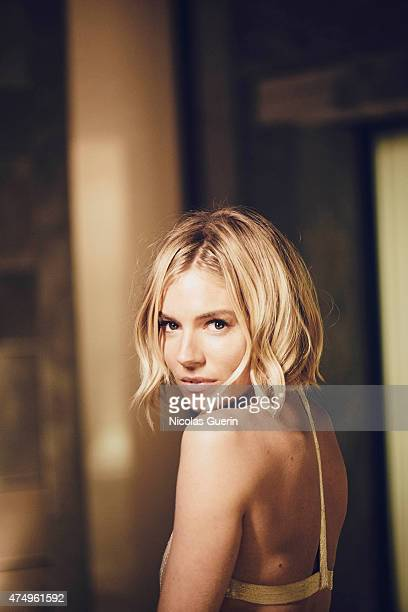 Actress Sienna Miller is photographed on May 18 2015 in Cannes France