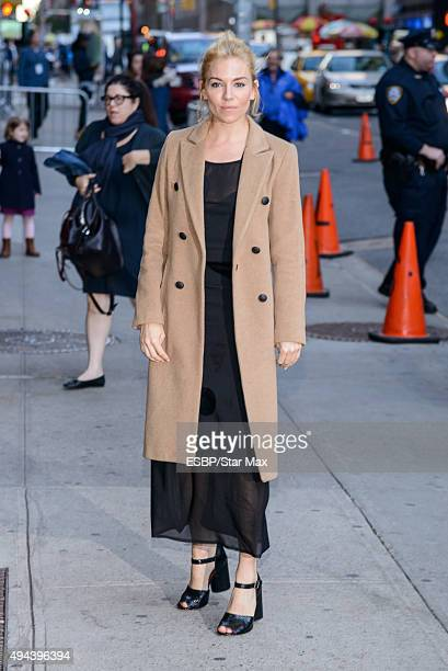 Actress Sienna Miller is seen on October 26 2015 in New York City