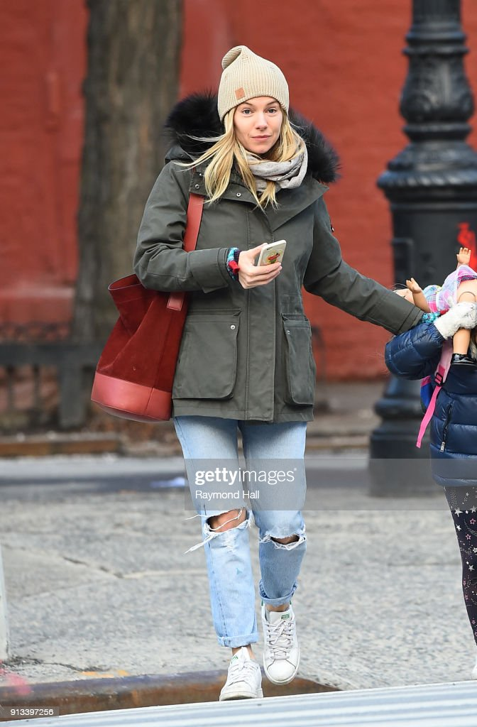 Celebrity Sightings in New York City - February 2, 2018