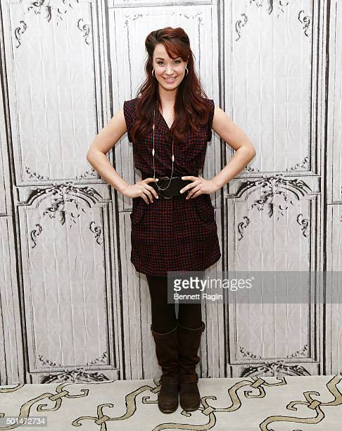 Actress Sierra Boggess attends AOL Build at AOL Studios In New York on December 15, 2015 in New York City.