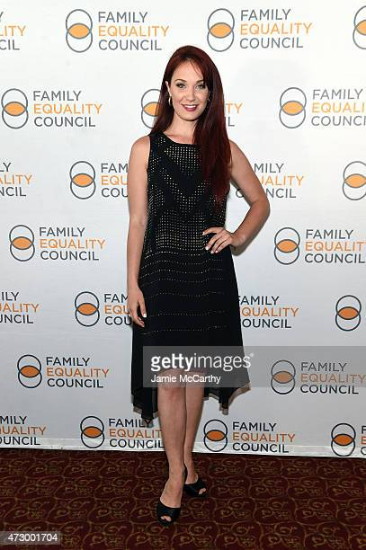 Actress Sierra Boggess attends the Family Equality Council's 2015 Night At The Pier at Pier 60 on May 11 2015 in New York City