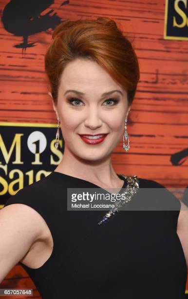 Actress Sierra Boggess attends the opening night of Miss Saigon Broadway at the Broadway Theatre on March 23 2017 in New York City