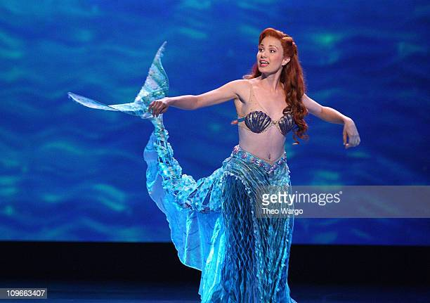 Actress Sierra Boggess performs on stage during the 62nd Annual Tony Awards at Radio City Music Hall on June 15 2008 in New York City