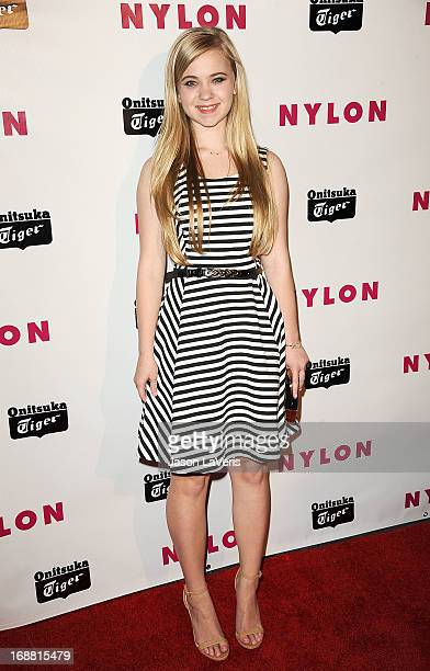 Actress Sierra McCormick attends Nylon Magazine's Young Hollywood issue event at The Roosevelt Hotel on May 14 2013 in Hollywood California