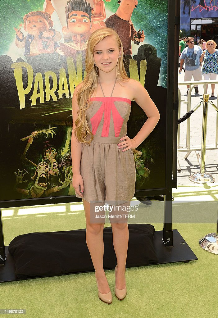 Actress Sierra McCormick attends the premiere of Focus Features' 'ParaNorman' held at Universal CityWalk on August 5, 2012 in Universal City, California.
