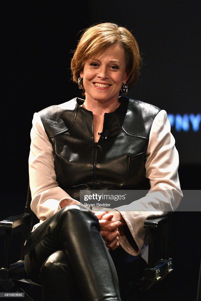 The New Yorker Festival 2015 - Sigorney Weaver Talks With Anthony Lane