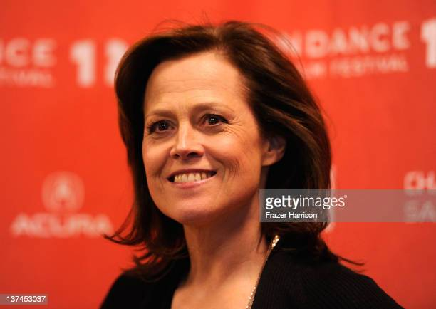 Actress Sigourney Weaver arrives at 'Red Lights' Premiere during the 2012 Sundance Film Festival at Eccles Center Theatre on January 20 2012 in Park...