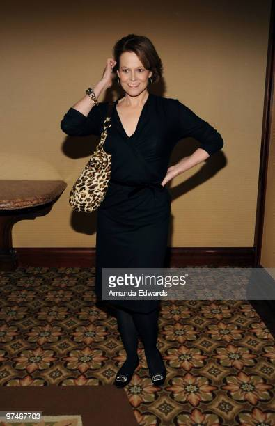 Actress Sigourney Weaver arrives at the 47th Annual ICG Publicists Awards at the Hyatt Regency Century Plaza on March 5, 2010 in Century City,...
