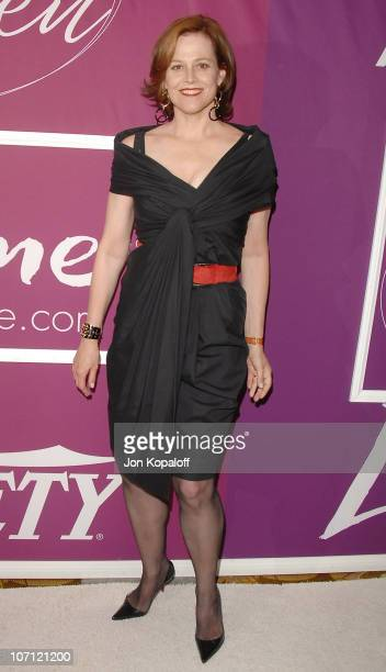 Actress Sigourney Weaver arrives at Variety's 1st Annual Power Of Women Luncheon at The Beverly Wilshire Hotel on September 24 2009 in Beverly Hills...