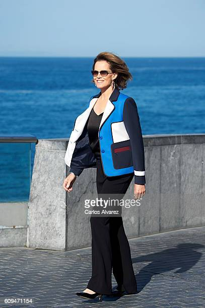 Actress Sigourney Weaver attends 'A Monster Call' photocall during 64th San Sebastian International Film Festival at Aquarium on September 21 2016 in...