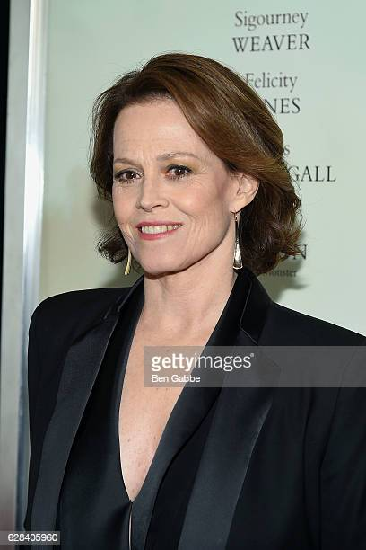 Actress Sigourney Weaver attends A Monster Calls New York Premiere at AMC Loews Lincoln Square 13 theater on December 7 2016 in New York City
