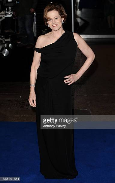 Actress Sigourney Weaver attends the 'Avatar' Premiere at the Odeon Cinema Leicester Square on December 10 2009 in London