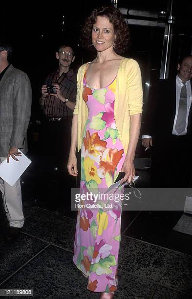 Actress Sigourney Weaver attends the HBO Television Special Comic Relief VIII to Benefit America's Homeless on June 14 1998 at Radio City Music Hall...