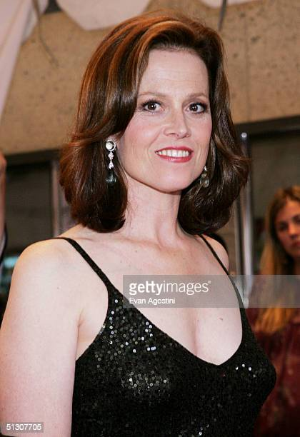"Actress Sigourney Weaver attends the ""Imaginary Heroes"" gala screening at Roy Thomson Hall during the 2004 Toronto International Film Festival on..."