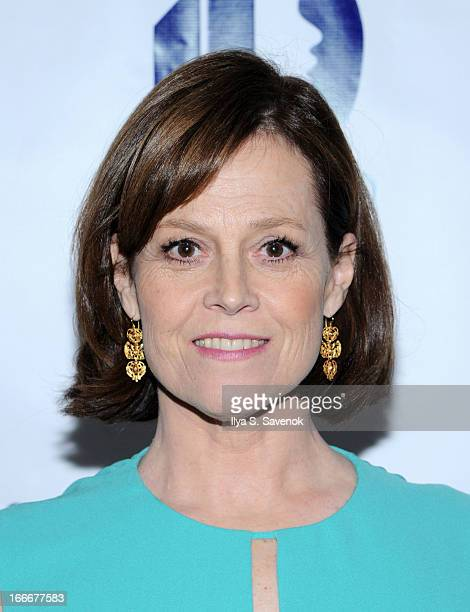 Actress Sigourney Weaver attends the National Center for Learning Disabilities 36th annual dinner at the Mandarin Oriental Hotel on April 15 2013 in...