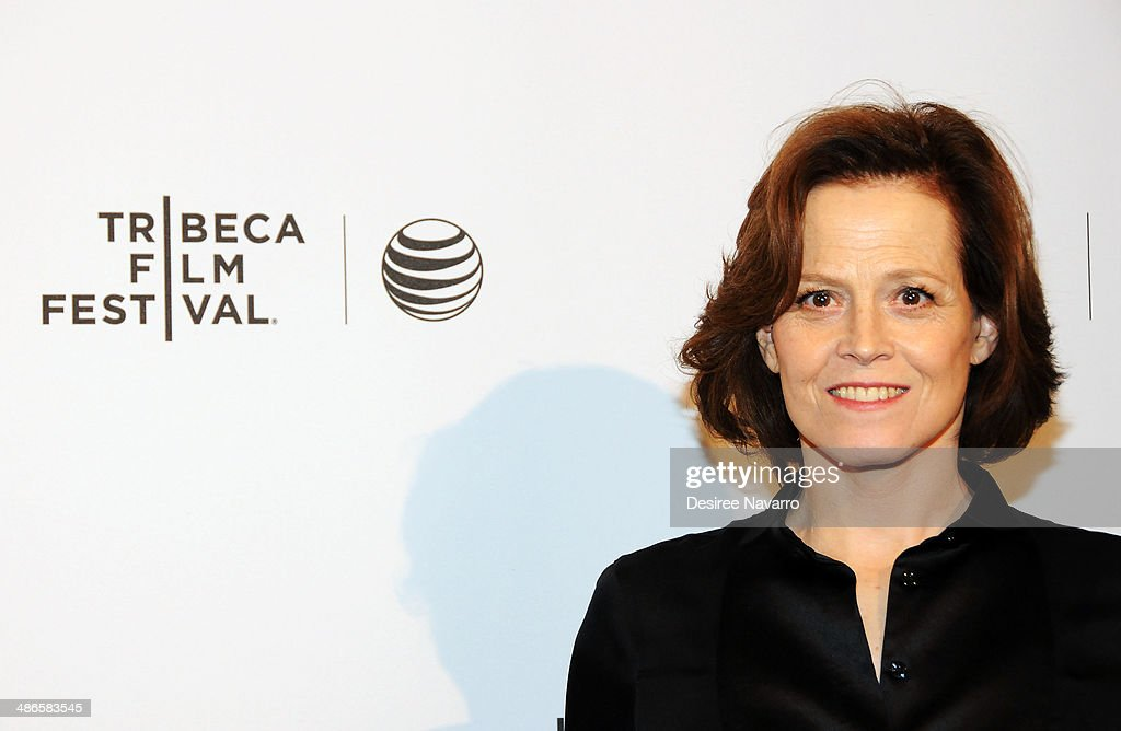 Actress Sigourney Weaver attends the Shorts Program: City Limits during the 2014 Tribeca Film Festival at AMC Loews Village 7 on April 24, 2014 in New York City.