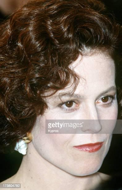 Actress Sigourney Weaver circa 1991