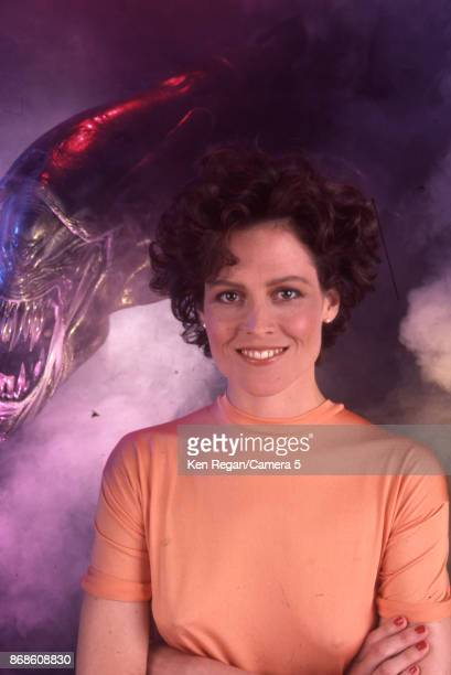 Actress Sigourney Weaver is photographed for Time Magazine in 1986 in New York City CREDIT MUST READ Ken Regan/Camera 5 via Contour by Getty Images