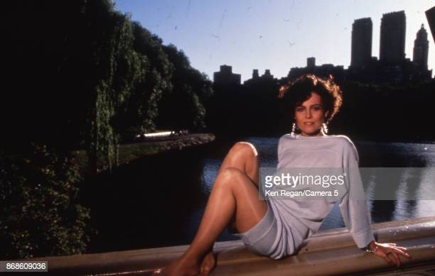 Actress Sigourney Weaver is photographed in 1987 in New York City CREDIT MUST READ Ken Regan/Camera 5 via Contour by Getty Images