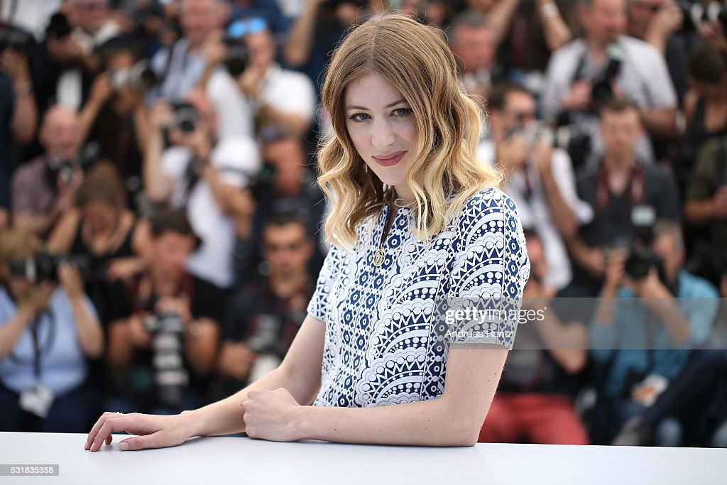 Actress Sigrid Bouaziz attends the 'Personal Shopper' photocall during the 69th annual Cannes Film Festival at the Palais des Festivals on May 17, 2016 in Cannes, France.