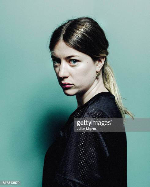 Actress Sigrid Bouaziz is photographed for Grazia France Magazine on April 22 2016 in Paris France
