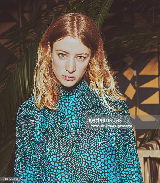 Actress Sigrid Bouaziz is photographed for Madame Figaro on June 16 2016 in Paris France Dress earrings personal PUBLISHED IMAGE CREDIT MUST READ...