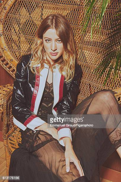 Actress Sigrid Bouaziz is photographed for Madame Figaro on June 16 2016 in Paris France All PUBLISHED IMAGE CREDIT MUST READ Emmanuel...