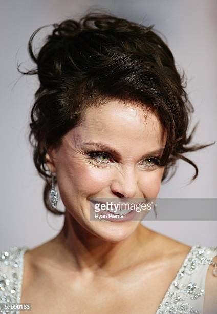 Actress Sigrid Thornton arrives for the 2006 TV Week Logie Awards at the Crown Entertainment Complex on May 7 2006 in Melbourne Australia