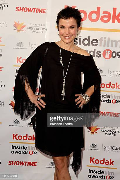 Actress Sigrid Thornton arrives for the 2009 Kodak Inside Film Awards at Luna Park on November 18 2009 in Sydney Australia