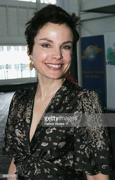 Actress Sigrid Thornton attends the L'Oreal Paris 2005 AFI Awards Nomination announcement at the Wharf Resturant on October 21 2005 in Sydney...